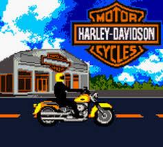 play harley davidson motor cycles race across america nintendo