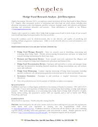 Bunch Ideas Of Fund Controller Cover Letter In Hedge Fund
