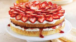 Gluten Free Strawberry Topped Cake Sobeys Inc