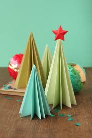Diy Paper Christmas Trees 8 Steps