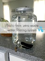 Water Filtration Dispenser Plastic Free Zero Waste Water Filtration Meredith Tested