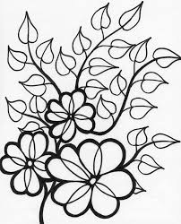 Free Coloring Pages Flowers And Butterflies Printable Flower 15200 ...