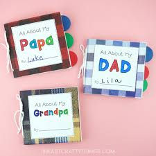 creative diy father s day gifts that kids can make paper bag diy father s day book