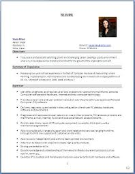 Sample Resume Format For Freshers Software Engineers Beautiful