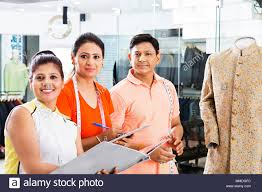 Fashion Designing Boutique Jobs Three Boutique Tailors Teamwork Dress Designer Working In