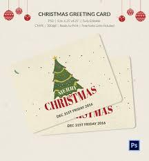 22 Christmas Greeting Card Templates Psd Free Premium Templates