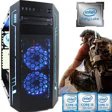 build your own custom spec intel i5 i7 kaby lake gaming pc