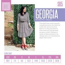 Lularoe Georgia Dress Size Chart Www Bedowntowndaytona Com