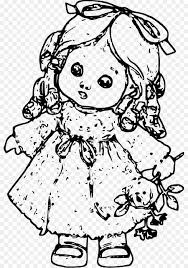 coloring book drawing doll barbie child doll