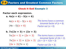 factoring and solving by