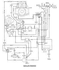kohler engine electrical diagram re voltage regulator rectifier 25 hp kohler engine not charging at Kohler Voltage Regulator Wiring Diagram