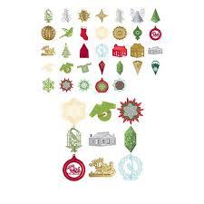 anna griffin ornaments cricut digital cartridge 8539009 hsn