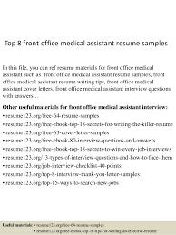 Sample resume office administration Hepinfo net medical assistant resume  sample office assistant resume