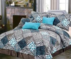 turquoise and black bedding popular black white and turquoise bedding sets animal print comforter sets for turquoise and black bedding