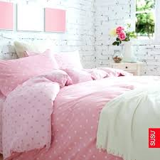 pink bed sheets full cotton luxurious purple polka dot collection 4 piece bedding set light pink pink bed sheets full