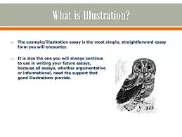 an illustrative essay how to write an illustration essay