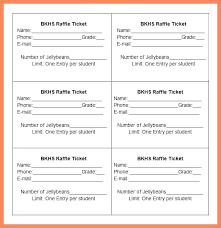 Avery Tickets Templates Free Templates For Raffle Tickets Excel Ticket Template