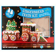 Gingerbread Kitchen Curtains Gingerbread Train Kit 208 Lb Walmartcom