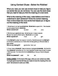 Kids  middle school spelling worksheets  Kindergarten Spelling furthermore Context Clues  Finding Word Meanings   Worksheet   Education moreover QR Code Scavenger Hunt   Context Clues   TeacherLingo together with Kids  middle school spelling worksheets  Kindergarten Spelling also Analyzing Words with Context Clues   Middle School Worksheet besides English worksheet  Context Clues Worksheet 2   Teaching besides Gettysburg Address   Context Clues Worksheets for High School likewise Context Clues Worksheet Teaching Resources   Teachers Pay Teachers in addition Kids  middle school spelling worksheets  Kindergarten Spelling as well Context Clues  Word Mystery   Worksheet   Education further . on middle school context clues worksheets