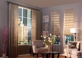 blinds and curtains on same window. Unique And Hobbled Roman Shade In Blinds And Curtains On Same Window