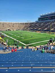 Photos At Notre Dame Stadium