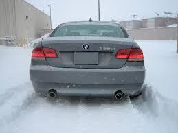 Coupe Series 2013 bmw 335xi : BMW 335xi vs. Snow