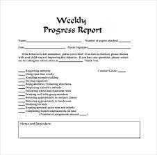 Business Progress Report Template Stunning Construction Weekly Progress Report Template