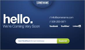 Coming Soon Website Template Impressive 28 Best Free Coming Soon Under Construction Templates