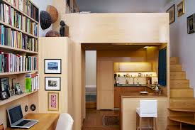 Efficient Design Of A Tiny Apartment Loft In Nyc Idesignarch Tim Seggerman
