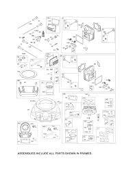 Briggs stratton engine parts model 4458771565g5 sears partsdirect
