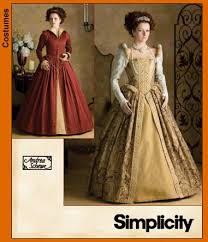Simplicity Patterns Costumes Mesmerizing Simplicity 48 Misses Elizabethan Costumes