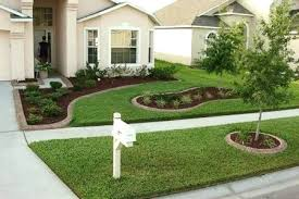 Front Yard Landscaping Ideas On A Budget Calm Front Yard Landscaping