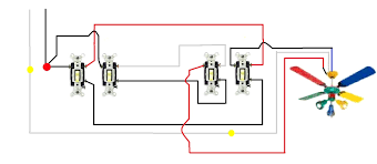 3 way switch wiring for ceiling fan and light u2022 ceiling lights rh autocorrect us 4 wire fan switch replacement 4 wire ceiling fan wiring diagram