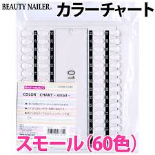 Small Color Chart Beauty Naylor Color Chart Small 60 Colors Ncc 12 Beauty Nailer