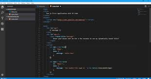 Create your first Vue.js application using Visual Studio Code (VS ...
