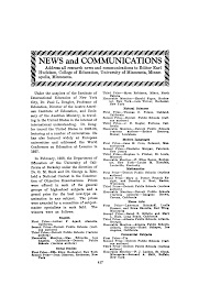 News and Communications