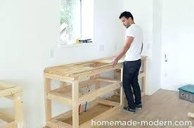custom kitchen cabinets how to make kitchen cabinets this entire kitchen project cost less