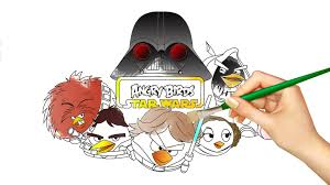 Small Picture Angry Birds Star Wars Coloring Book YouTube