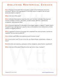 rhetorical essay rhetorical devices essay examples rhetorical analysis essay writing teacher tools