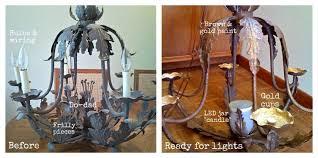 thissortaoldlife solar chandelier stage 1