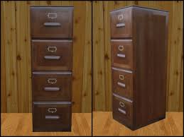 wood file cabinet. RE Old Wood File Cabinet- One Prim - Western/Old West Cabinet E