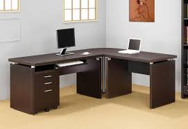beautiful home office furniture. Strikingly Beautiful Home Office Desks L Shaped For Compact Desk Left Return Furniture Ideas