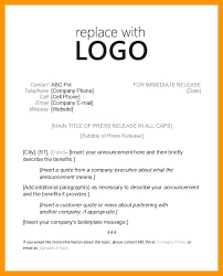 Business Press Release Template Business Press Release Template