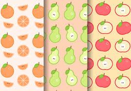 Fruit Pattern Amazing Free Summer Fruit Pattern Download Free Vector Art Stock Graphics