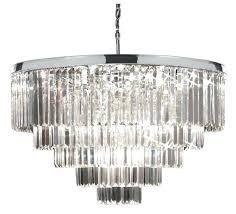 odeon crystal chandelier crystal glass fringe 5 tier chrome chandelier odeon crystal fringe 3 tier chandelier