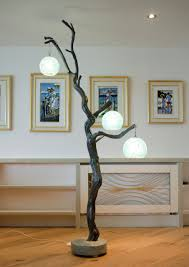 Full Size of Tree Branch Floor Lamp With Model Lamps And Flooring Also  Three Bulb Homemade ...