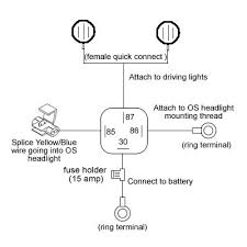 wiring diagram driving lights wiring image wiring wiring diagram car spotlights wiring auto wiring diagram schematic on wiring diagram driving lights