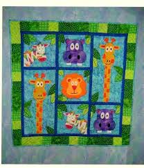 Quick Quilts To Make – co-nnect.me & ... Easy Quilts To Make With Jelly Rolls Cute Baby Quilts To Make Cute  Jungle Animals Smile ... Adamdwight.com