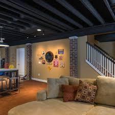 painted basement ceiling ideas. Basement Ceiling Ideas Spray Paint Painted C
