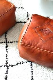 cognac leather ottoman wonderful best chairs ottomans images on brown table o tufted photo of grey